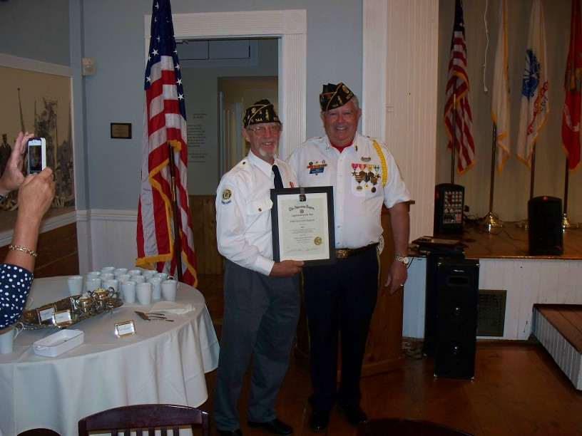 July 2012 Officer Installation