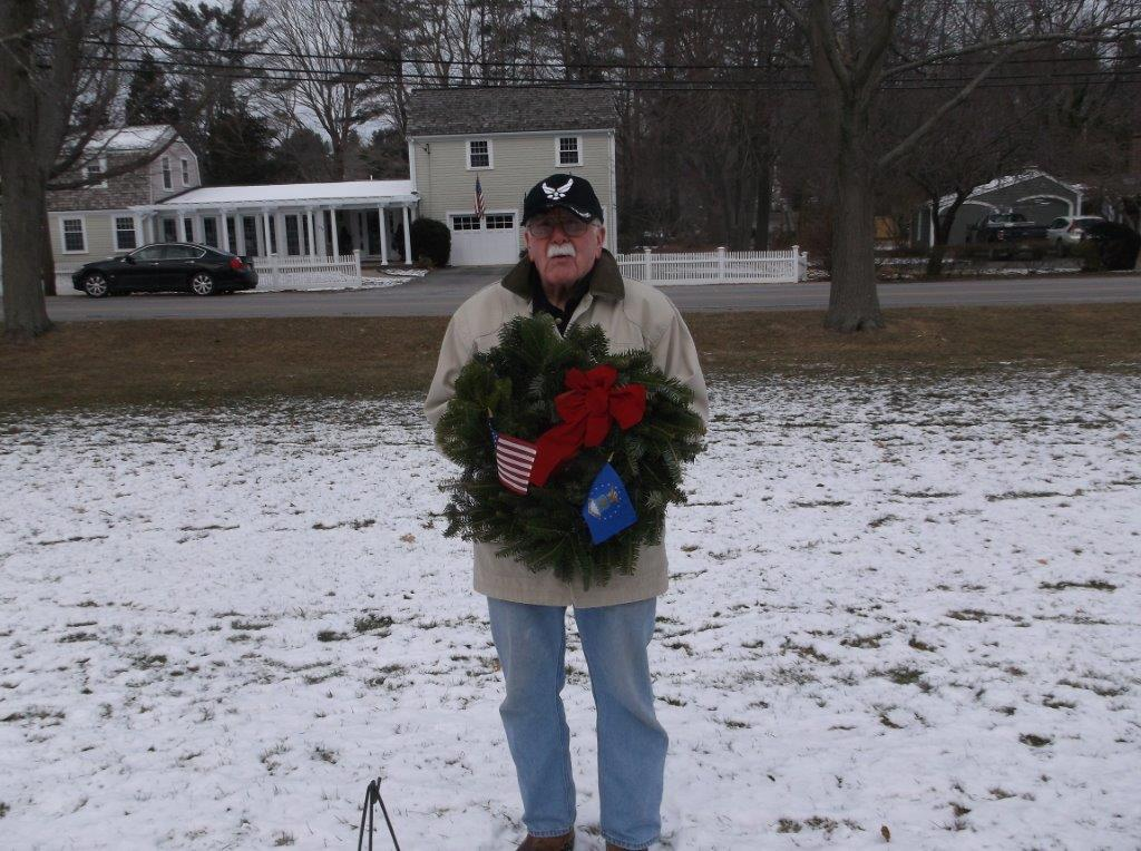 Retired AirForce veteran John Broadley