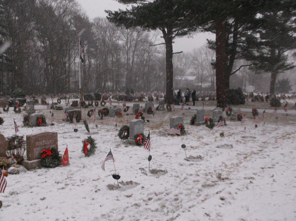 Placed Wreaths