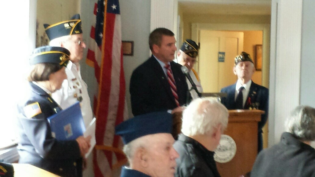 Veterans Day 2014 at the GAR Hall
