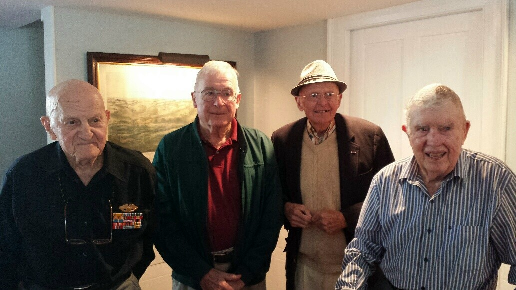 Veterans Day 2014 GAR Hall WW2 vets